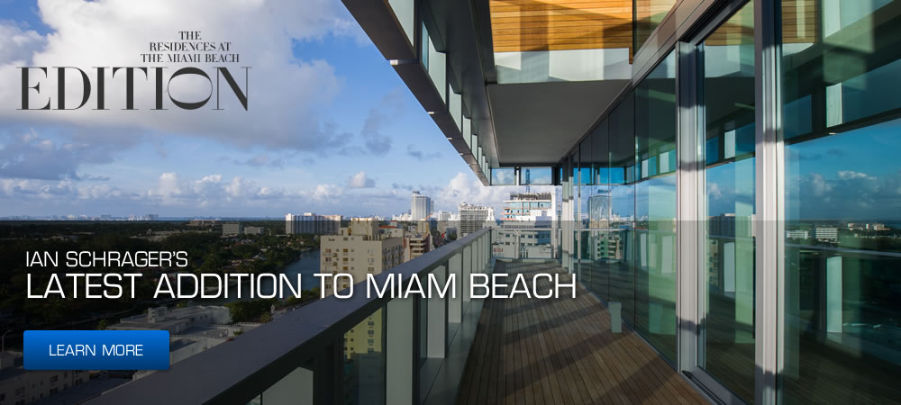 Miami Beach Edition Penthouse Two